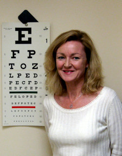 Kelly eye chart